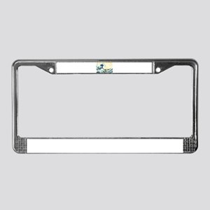 The Great Wave off Kanagawa License Plate Frame